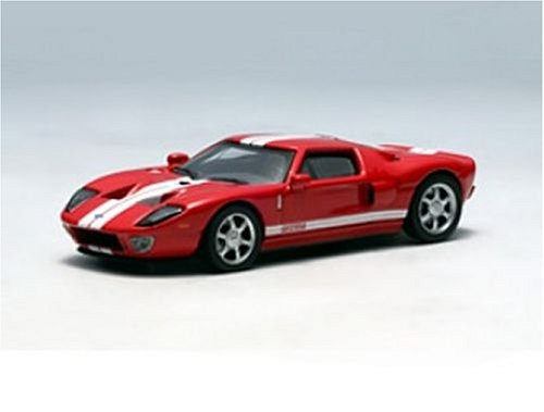 AutoArt Diecast Model Ford GT (2004) in Red (1:64 scale)