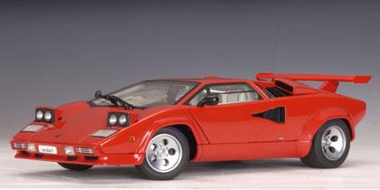 Autoart Lamborghini Countach Lp5000 S In Red Diecast Model
