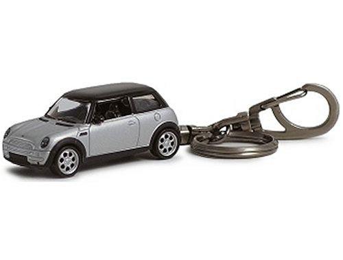 Autoart Mini Cooper Keychain In Silver 1 64 Scale Diecast Model