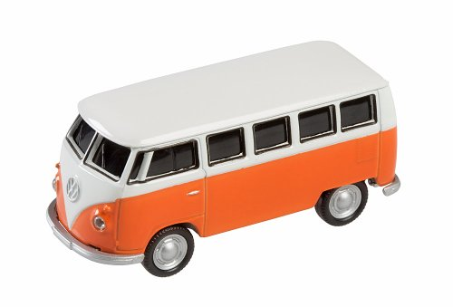AutoDrive VW Bus T1 Orange, 8 GB USB Memory Stick Flash Pen Drive product image