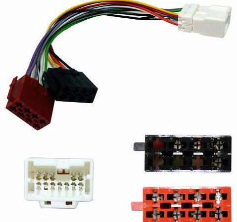 PC2-109-4 Car Audio Harness Adaptor Lead - Nissan Almera Tino Primera