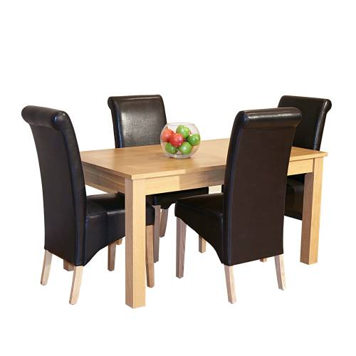 Avalon Oak Dining Set (5 Table x4 Guinness product image