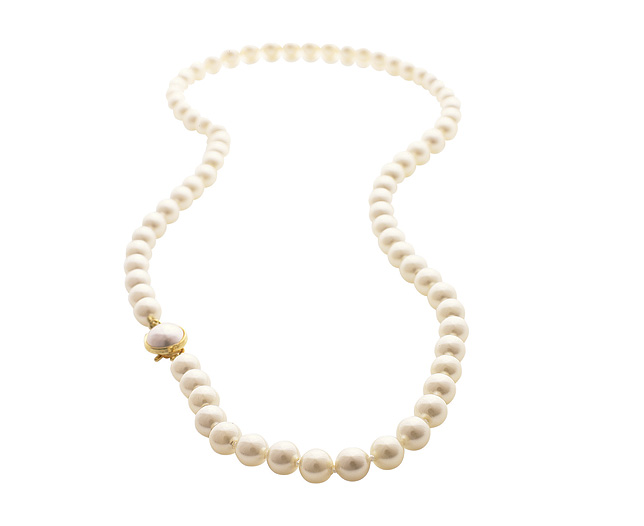 Pearls - 20 inch Single Strand Necklace