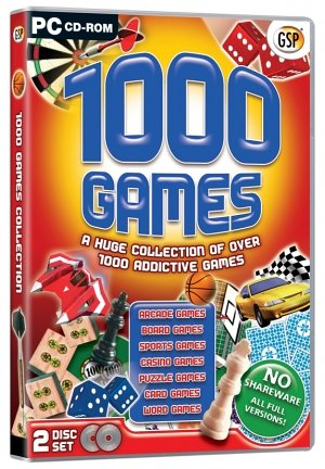 Avanquest Software 1000 Games (PC)