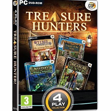 Avanquest Software 4 Play Collection - Treasure Hunters (PC DVD)