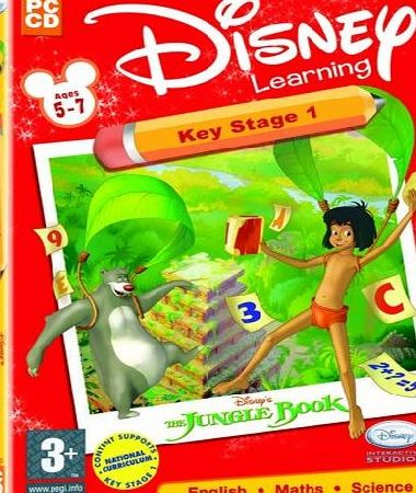 Avanquest Software Disney Learning Key Stage 1 Jungle Book Ages 5-7 (PC)