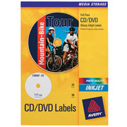 Avery Full-Face CD-DVD Labels product image