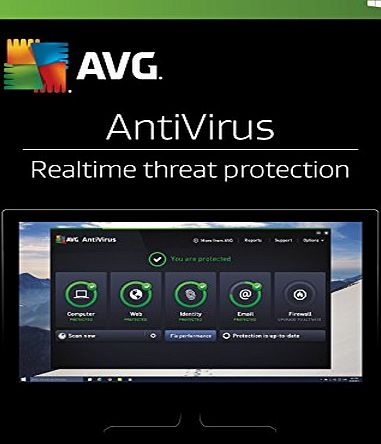 AVG AntiVirus 2017 - 1 User 2 Year (PC)