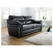 Avignon leather sofa large, black product image