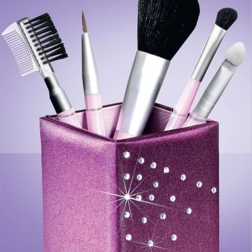 Make Up Brush Gift Set made with Swarovski