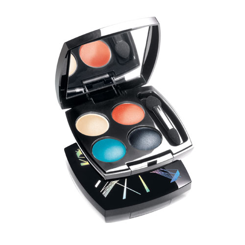 True Colour Eyeshadow Quad - Colourshock