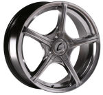 AP16 Hyper Black Alloy Wheels