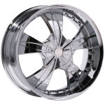 AP325 Chrome Alloy Wheels