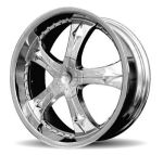 AP562 Chrome Alloy Wheels