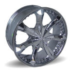 AP706 Chrome Alloy Wheels