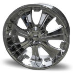 AP707 Chrome Alloy Wheels