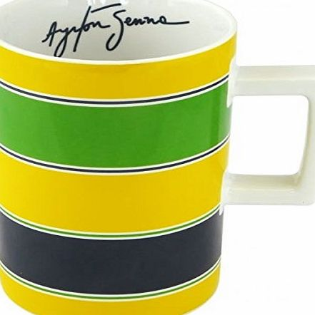 Ayrton Senna Collection Sempre Helmet Mug