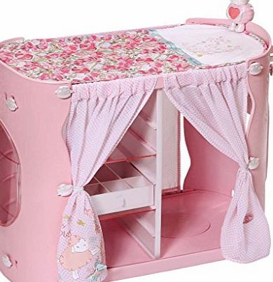 Baby Annabell 2-in-1 Baby Unit Wardrobe/Changing Table