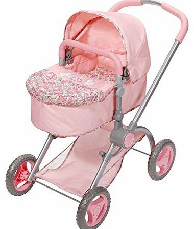 You can now carry and push your Baby Annabell with this beautiful multifunctional 2 in 1 pram. The detachable carry cot has a lovely sheep pattern fabric with a light pin (Barcode EAN = 4001167792858). - CLICK FOR MORE INFORMATION