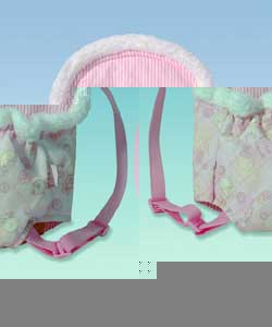 Baby carrier with adjustable straps