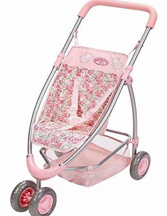 This Baby Annabell Jogger with a modern 3 wheel design is perfect to push your Baby Annabell doll around in. With a beautiful pink sheep patterned design, this luxury pra (Barcode EAN = 4001167792872). - CLICK FOR MORE INFORMATION