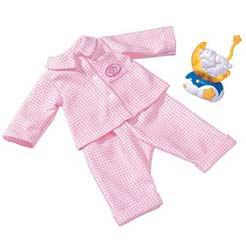 baby annabell sleep tight deluxe set baby annabell deluxe pyjama