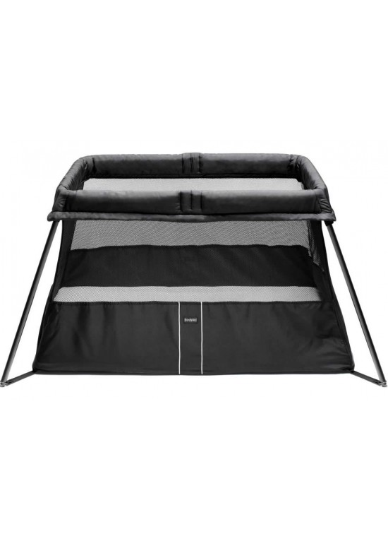 baby bjorn travel cot light black baby cots and cot bed review compare pri. Black Bedroom Furniture Sets. Home Design Ideas