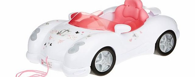 Your Baby Born can drive around in style with the Interactive Cabriolet. This cool convertible works with the Baby Born Interactive Doll �(sold separately) and automatica (Barcode EAN = 4001167815786). - CLICK FOR MORE INFORMATION