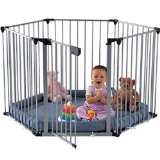BabyDan Babyden Playpen in Silver with Grey Playmat product image