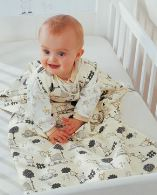 BabyDan Sleeping Bag Sleep Suit - Happy Flowers