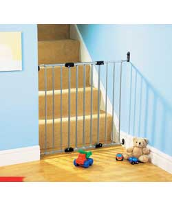 Babydan Chrome Effect Safety Gate Baby Gate Review