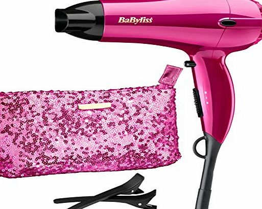 BaByliss 2000 W Shimmer Collection Limited Edition Hair Dryer Set