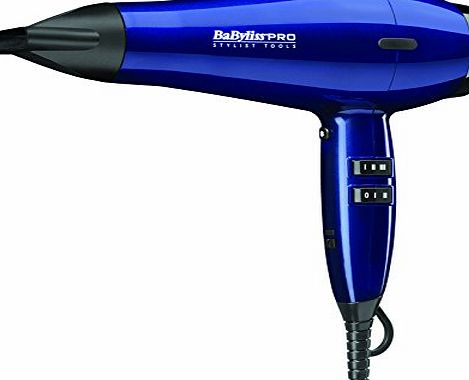BaByliss Cobalt Edition Pro Brilliance Dryer
