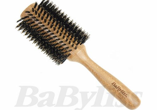Babyliss Natural Bamboo Porcupine Round Hair Brush