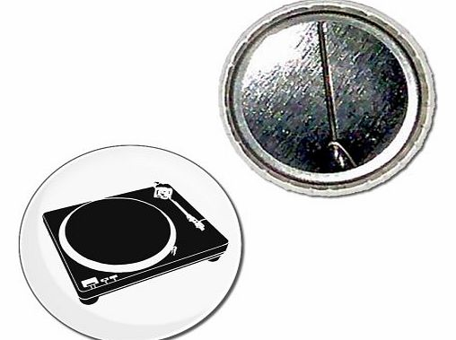 BadgeBeast DJ Decks - 25mm Button Badge product image