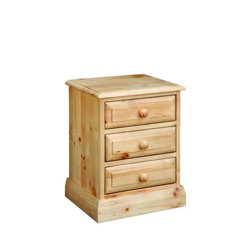 Badger Pine Bedside Table