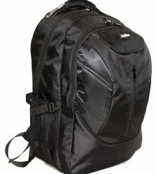 Outback 19 Inch Laptop Backpack College School Rucksack 8 BLACK PIECES PER BOX UNIT BLACK