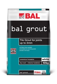 Wall Grout White 15KG