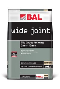 Wide Joint Grout White 35KG