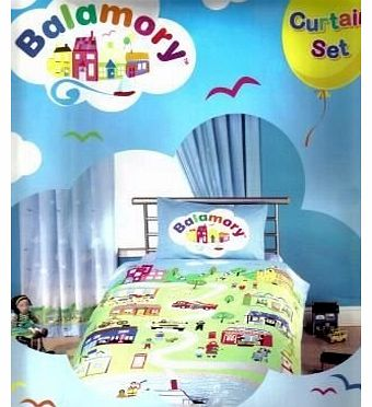 Baby/Childs Bedroom Curtains And Tie Backs, 66`` x 72``