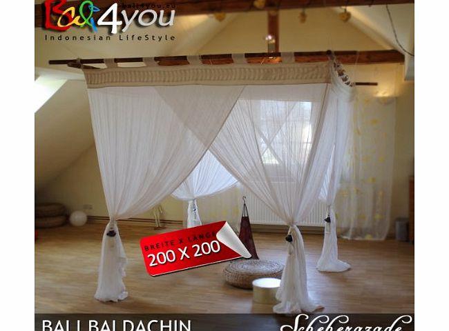 Bali4you Bali Baldachin Mosquito Net Scheherazade 220x200