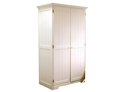 Classic Single Bed White