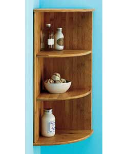 Bamboo wall mounted corner shelf review compare prices Corner wall mounted shelves