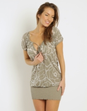 Bayview Carey Blouse - Taupe