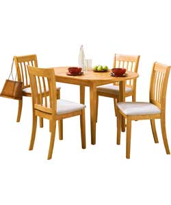 Extending Dining Table And 4 Chairs Chair Pads Amp Cushions