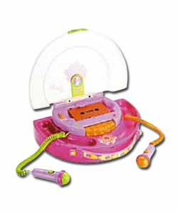 Barbie Handbag Style Cassette Recorder with 2 Microphones
