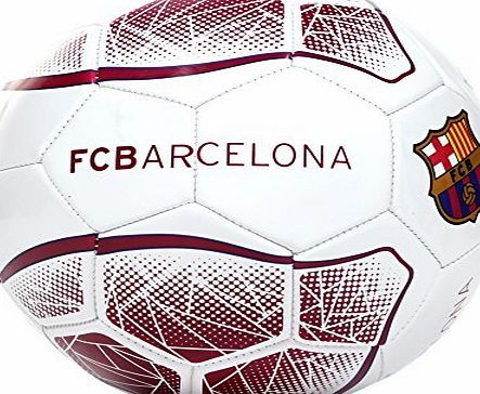 Barcelona F.C. FC Barcelona Prism Official Supporter Football Soccer Ball - Size 5