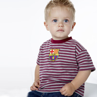 Barcelona Stripe T-Shirt - Baby. product image