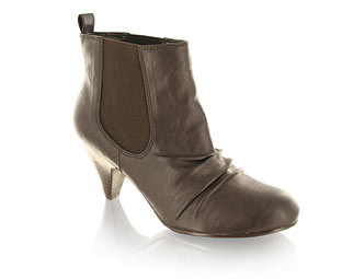 Barratts Fabulous Ankle Boot With Ruche Detail