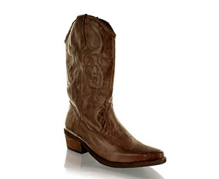 Barratts Fabulous Leather Cowboy Boot